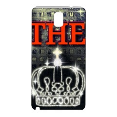The King Samsung Galaxy Note 3 N9005 Hardshell Back Case by SugaPlumsEmporium