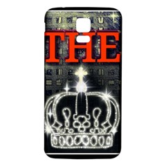 The King Samsung Galaxy S5 Back Case (white) by SugaPlumsEmporium
