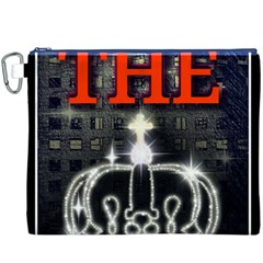 The King Canvas Cosmetic Bag (xxxl)  by SugaPlumsEmporium