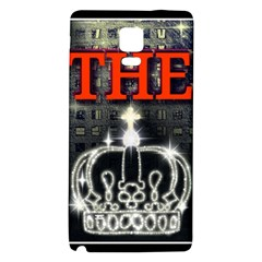 The King Galaxy Note 4 Back Case by SugaPlumsEmporium