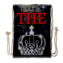 The King Drawstring Bag (large) by SugaPlumsEmporium