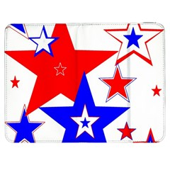 The Patriot 2 Samsung Galaxy Tab 7  P1000 Flip Case by SugaPlumsEmporium