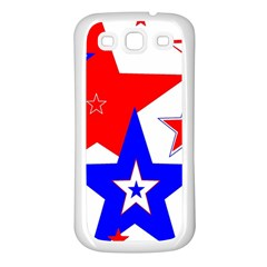 The Patriot 2 Samsung Galaxy S3 Back Case (white) by SugaPlumsEmporium
