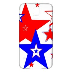 The Patriot 2 Samsung Galaxy S5 Back Case (white) by SugaPlumsEmporium