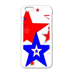 The Patriot 2 Apple iPhone 6/6S White Enamel Case by SugaPlumsEmporium