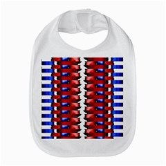 The Patriotic Flag Bib by SugaPlumsEmporium