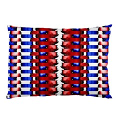 The Patriotic Flag Pillow Case by SugaPlumsEmporium