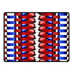 The Patriotic Flag Fleece Blanket (small) by SugaPlumsEmporium