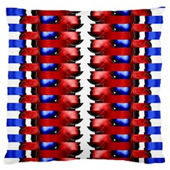 The Patriotic Flag Large Cushion Case (one Side) by SugaPlumsEmporium