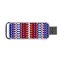 The Patriotic Flag Portable Usb Flash (one Side) by SugaPlumsEmporium
