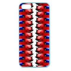 The Patriotic Flag Apple Seamless Iphone 5 Case (color) by SugaPlumsEmporium