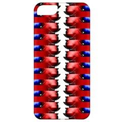 The Patriotic Flag Apple Iphone 5 Classic Hardshell Case by SugaPlumsEmporium