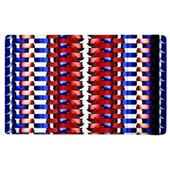 The Patriotic Flag Apple Ipad 2 Flip Case by SugaPlumsEmporium