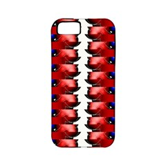 The Patriotic Flag Apple Iphone 5 Classic Hardshell Case (pc+silicone) by SugaPlumsEmporium