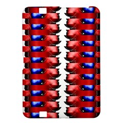 The Patriotic Flag Kindle Fire Hd 8 9  by SugaPlumsEmporium