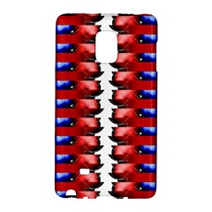 The Patriotic Flag Galaxy Note Edge by SugaPlumsEmporium
