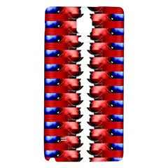 The Patriotic Flag Galaxy Note 4 Back Case by SugaPlumsEmporium
