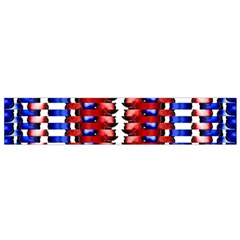 The Patriotic Flag Flano Scarf (small) by SugaPlumsEmporium