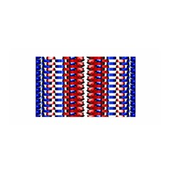 The Patriotic Flag Satin Wrap by SugaPlumsEmporium
