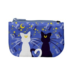 Moon Kitties Coin Change Purse by Ellador
