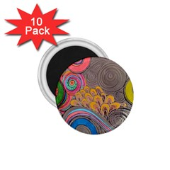 Rainbow Passion 1 75  Magnets (10 Pack)  by SugaPlumsEmporium