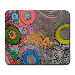 Rainbow Passion Large Mousepads by SugaPlumsEmporium