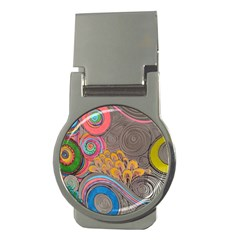Rainbow Passion Money Clips (round)  by SugaPlumsEmporium