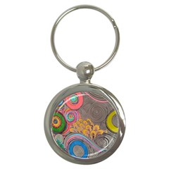 Rainbow Passion Key Chains (round)  by SugaPlumsEmporium