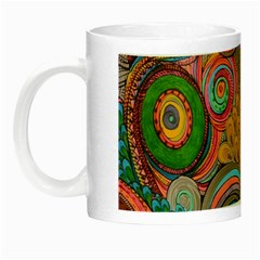Rainbow Passion Night Luminous Mugs by SugaPlumsEmporium
