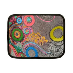 Rainbow Passion Netbook Case (small)  by SugaPlumsEmporium