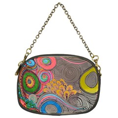 Rainbow Passion Chain Purses (two Sides)  by SugaPlumsEmporium