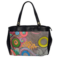 Rainbow Passion Office Handbags (2 Sides)  by SugaPlumsEmporium