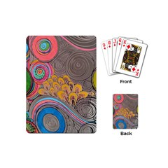 Rainbow Passion Playing Cards (mini)  by SugaPlumsEmporium