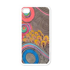 Rainbow Passion Apple Iphone 4 Case (white) by SugaPlumsEmporium