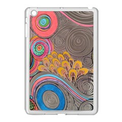 Rainbow Passion Apple Ipad Mini Case (white) by SugaPlumsEmporium