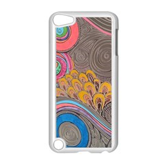 Rainbow Passion Apple Ipod Touch 5 Case (white) by SugaPlumsEmporium