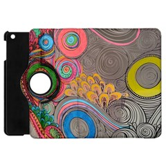 Rainbow Passion Apple Ipad Mini Flip 360 Case by SugaPlumsEmporium