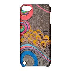 Rainbow Passion Apple Ipod Touch 5 Hardshell Case With Stand by SugaPlumsEmporium