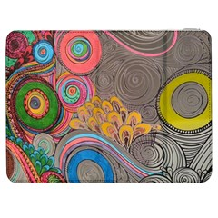 Rainbow Passion Samsung Galaxy Tab 7  P1000 Flip Case by SugaPlumsEmporium