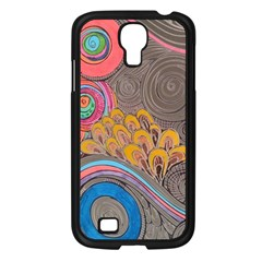 Rainbow Passion Samsung Galaxy S4 I9500/ I9505 Case (black) by SugaPlumsEmporium