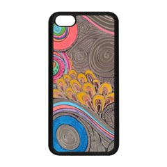 Rainbow Passion Apple Iphone 5c Seamless Case (black) by SugaPlumsEmporium