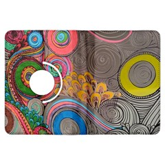 Rainbow Passion Kindle Fire Hdx Flip 360 Case by SugaPlumsEmporium
