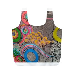 Rainbow Passion Full Print Recycle Bags (m)  by SugaPlumsEmporium