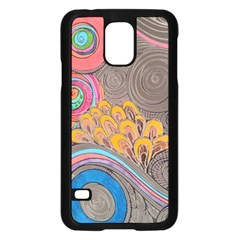 Rainbow Passion Samsung Galaxy S5 Case (black) by SugaPlumsEmporium
