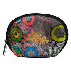 Rainbow Passion Accessory Pouches (medium)  by SugaPlumsEmporium