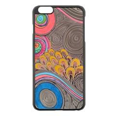 Rainbow Passion Apple Iphone 6 Plus/6s Plus Black Enamel Case by SugaPlumsEmporium