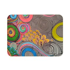 Rainbow Passion Double Sided Flano Blanket (mini)  by SugaPlumsEmporium