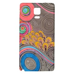 Rainbow Passion Galaxy Note 4 Back Case by SugaPlumsEmporium