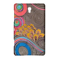 Rainbow Passion Samsung Galaxy Tab S (8 4 ) Hardshell Case  by SugaPlumsEmporium