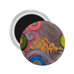 Rainbow Passion 2 25  Magnets by SugaPlumsEmporium